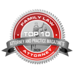 Daray Law Top 10 Family Law Attorney Badge