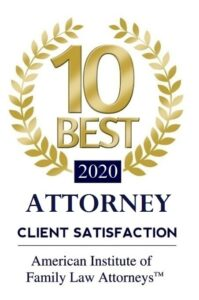 American Institute of Family Law Attorneys 10 Best Attorney Client Satisfaction